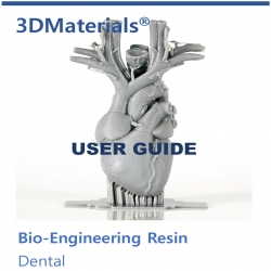 3DMaterials Dental Resin UserGuide 사진